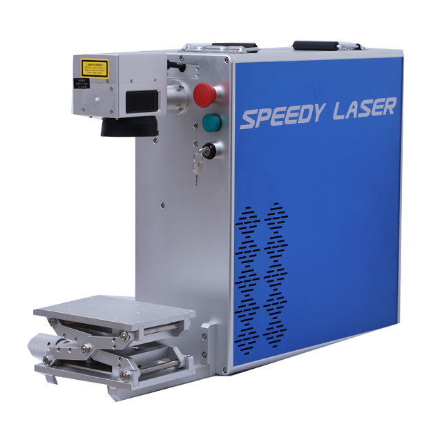 Machine de marquage laser à fibre portable 30W